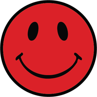 Red Smiley Face Clipart.