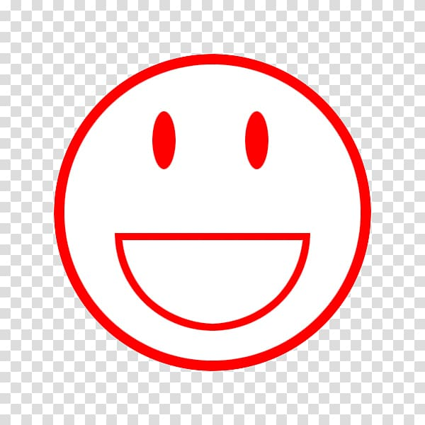 Smiley , Red smiley face FIG. transparent background PNG.
