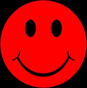 Happy Red Face Clip Art at Clker.com.