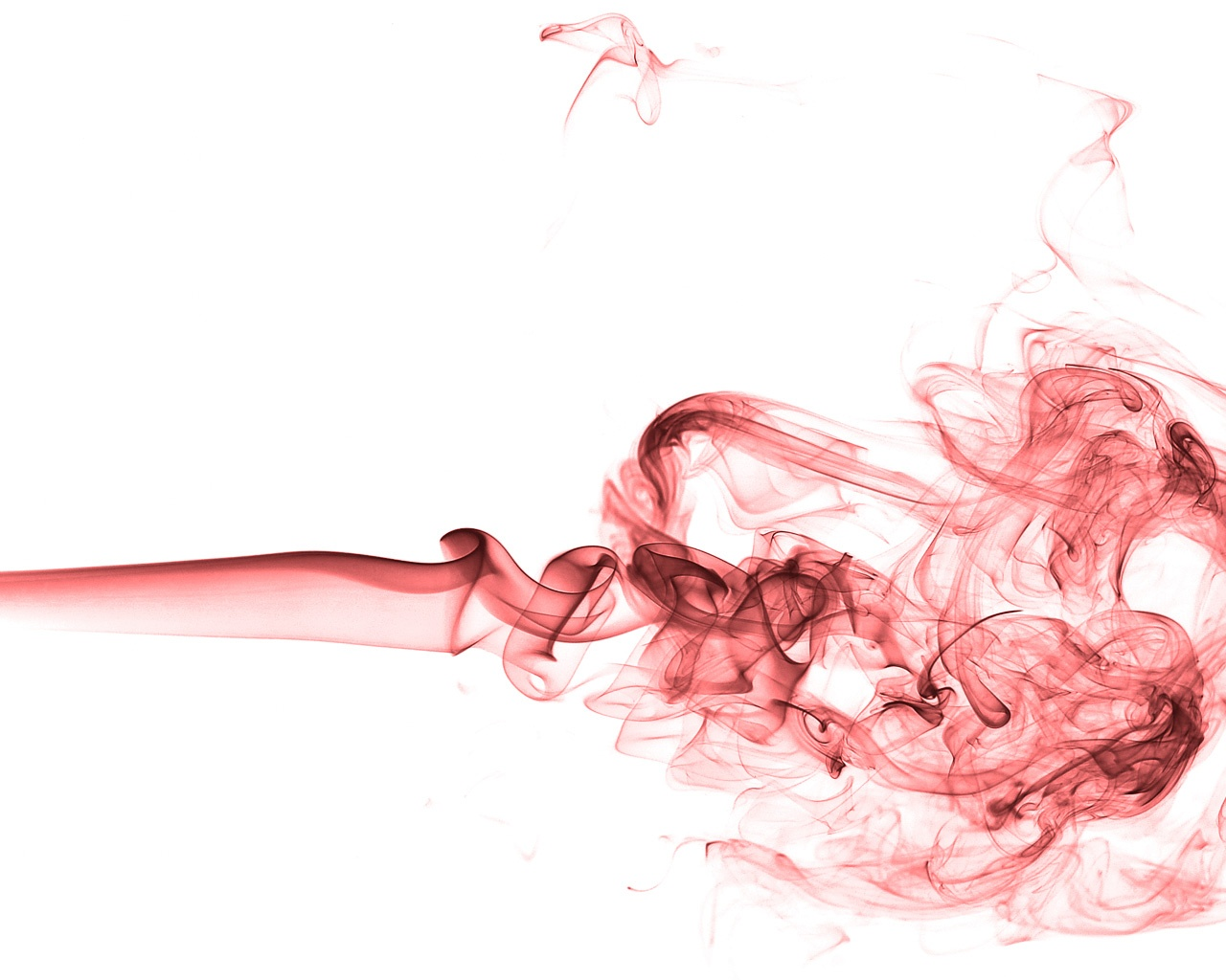 Red smoke clipart #7