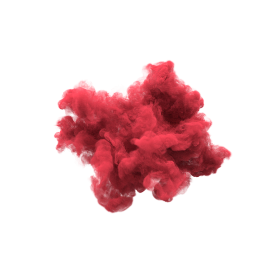 Red Smoke Png 6.
