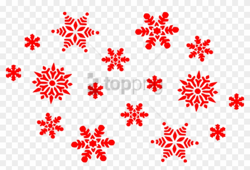 Free Png Download Red Snowflakes Png Images Background.