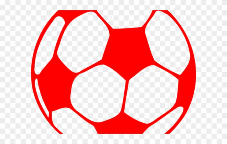 Football Clipart Red.