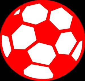 Red Soccer Ball Clip Art at Clker.com.