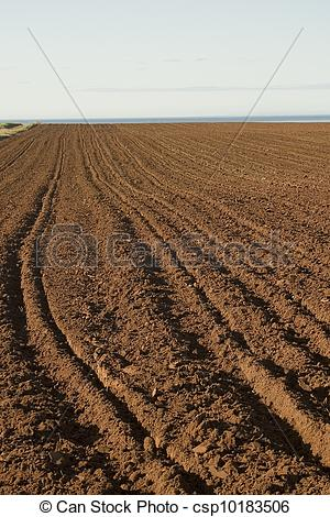 Stock Photography of Red Soil.