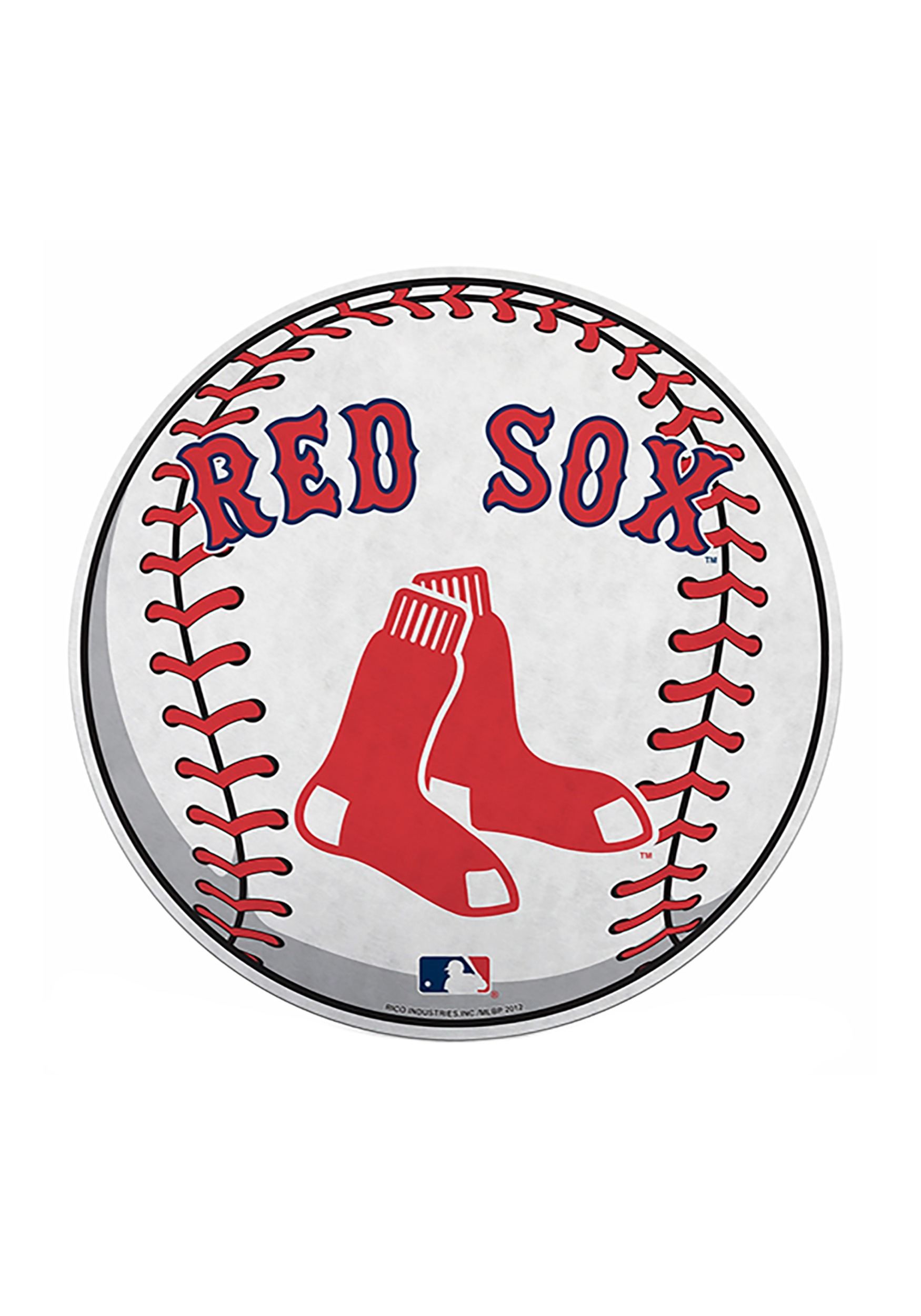 Boston Red Sox MLB Die Cut Baseball Pennant.