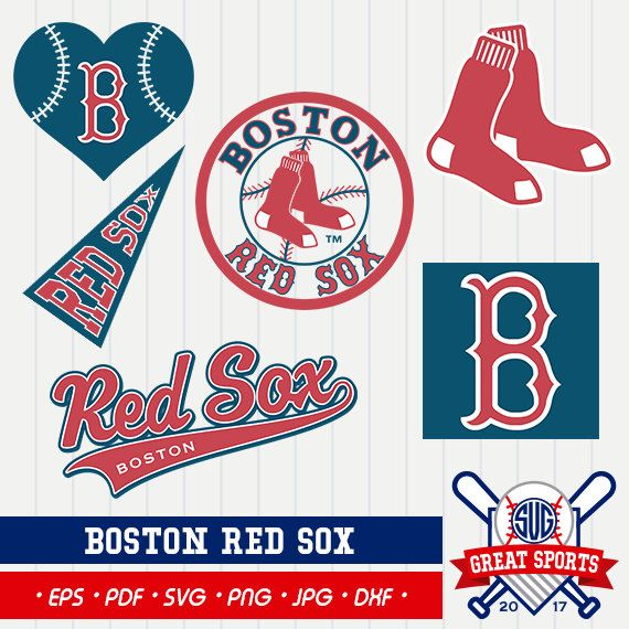 Boston Red Sox SVG, Boston Red Sox CLipart, Red Sox SVG.