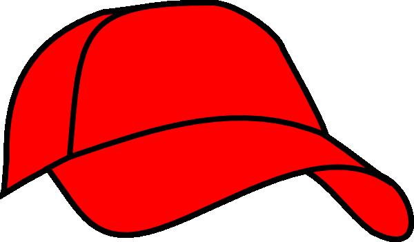 Baseball hat red baseball cap clip art at vector clip art.