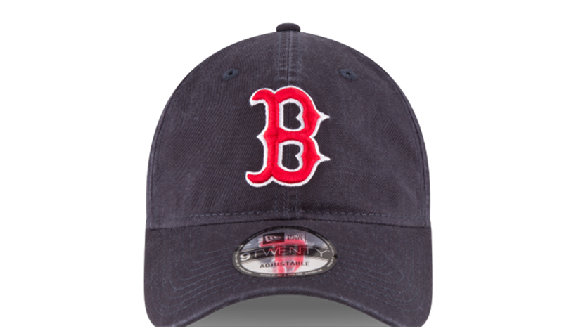 MLB Boston Red Sox New Era 9TWENTY Adjustable Cap.