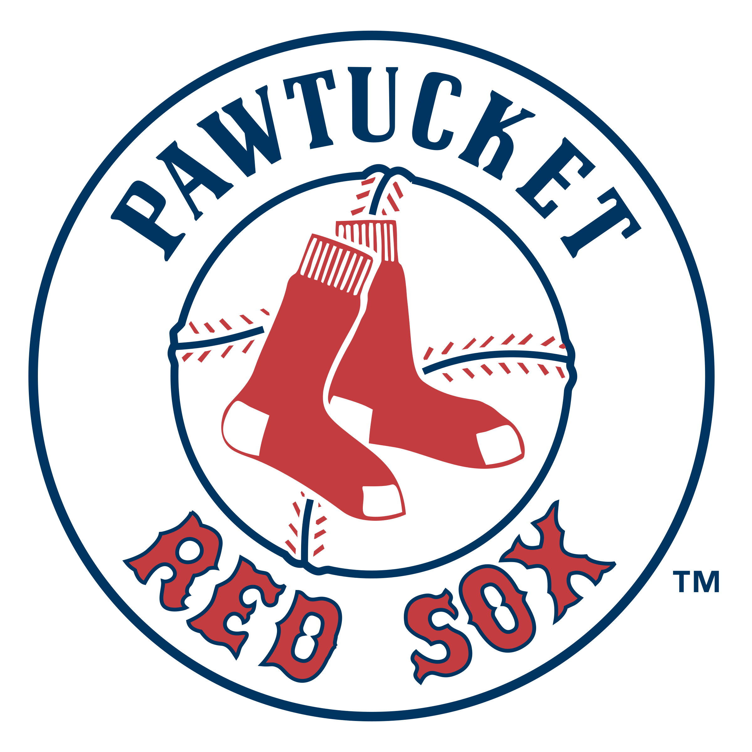 Pawtucket Red Sox Logo PNG Transparent & SVG Vector.