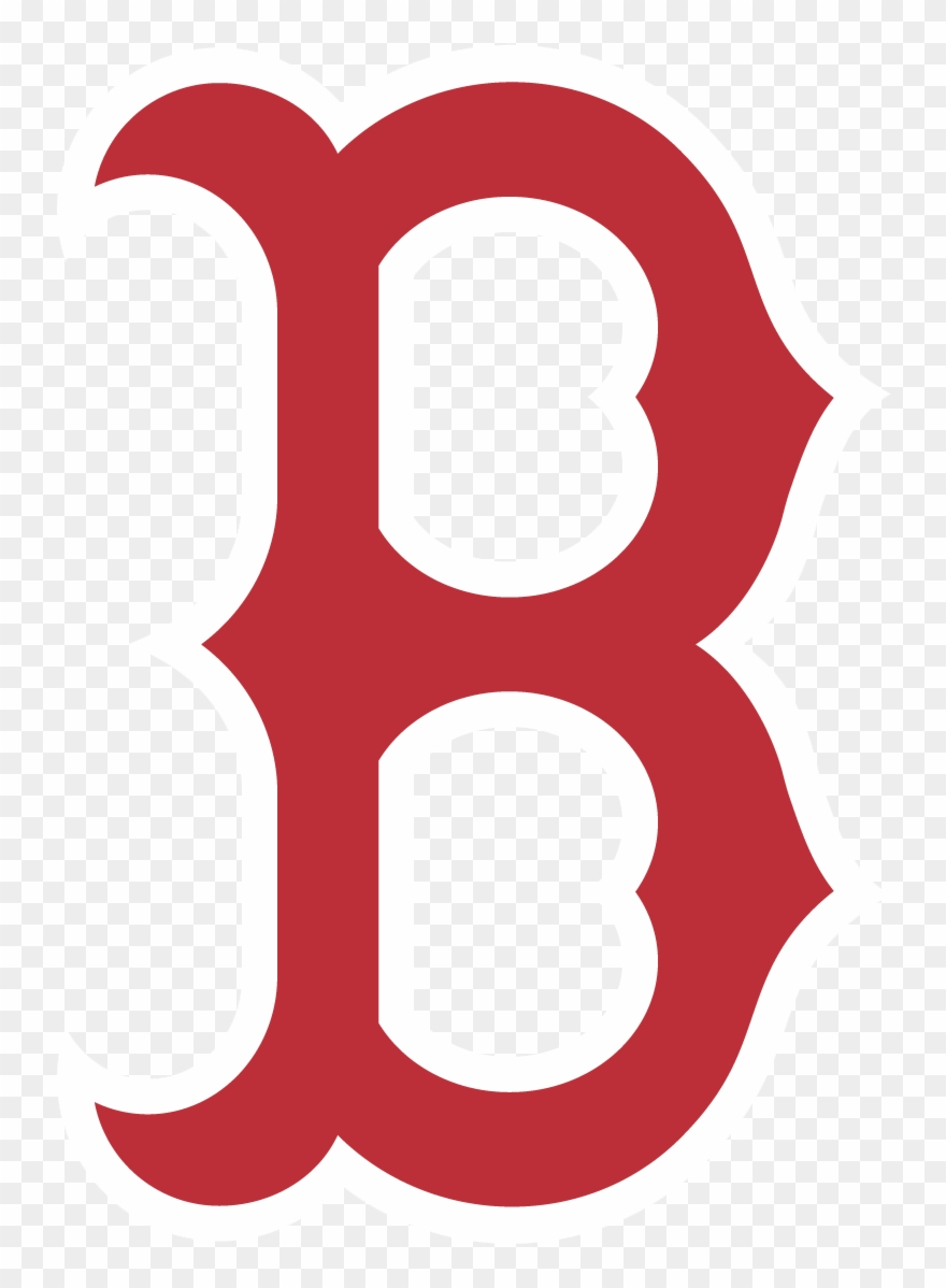 Boston Red Sox B Logo Cap Transparent.
