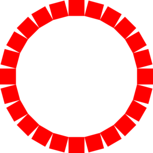 Red square clip art.