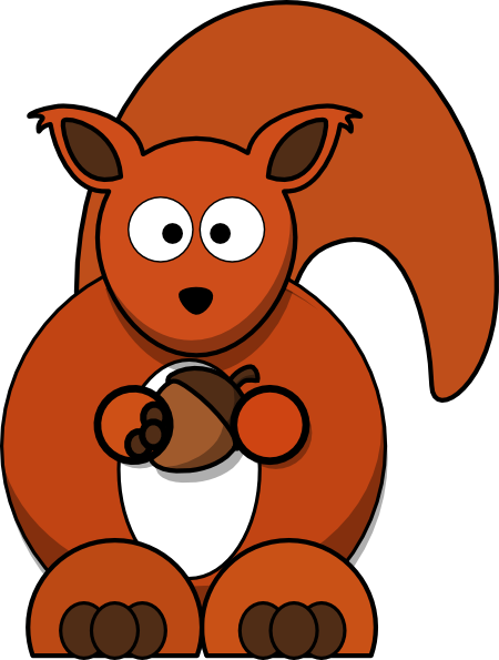 Cliparts Red Squirrel Clipart.