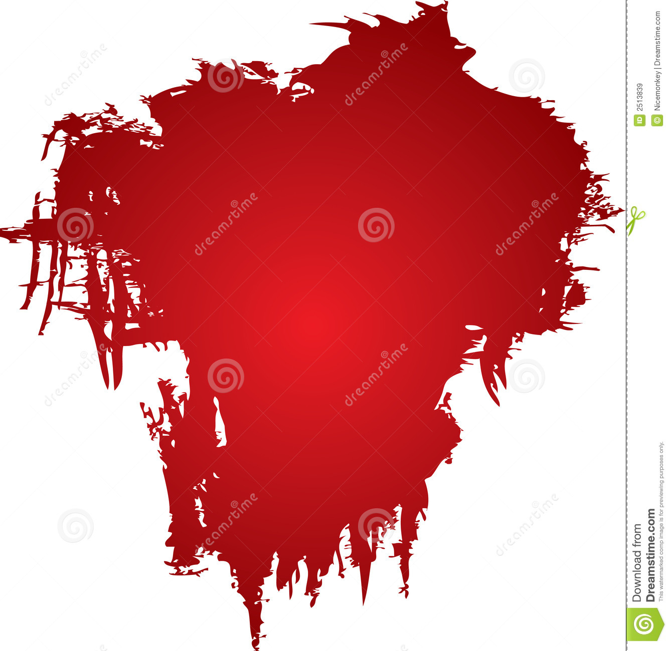 Blood Stain Clipart.