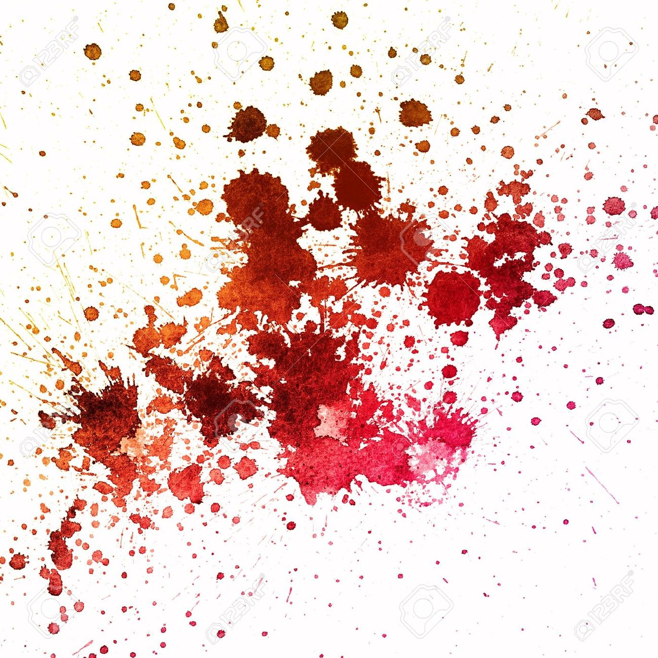 Blood stained clipart.