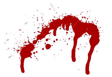 Bright Red Splatter Clip Art At Clker Com Vector, Blood Splatter.