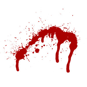 Free blood stain clipart.