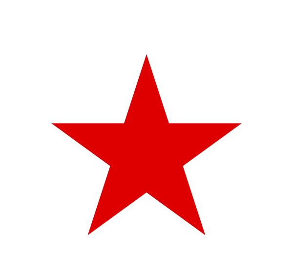 100+ Red Star Clip Art.