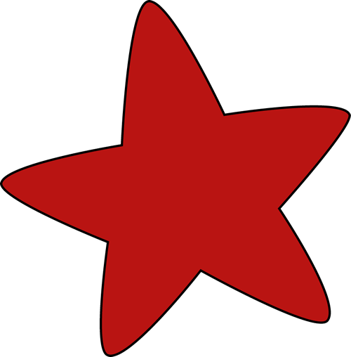Free Red Star Clipart, Download Free Clip Art, Free Clip Art.