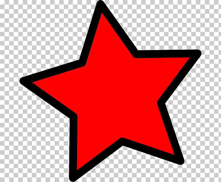 Red star , cartoon meteor PNG clipart.
