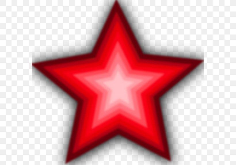 Red Star Clip Art, PNG, 600x574px, Star, Free Content.