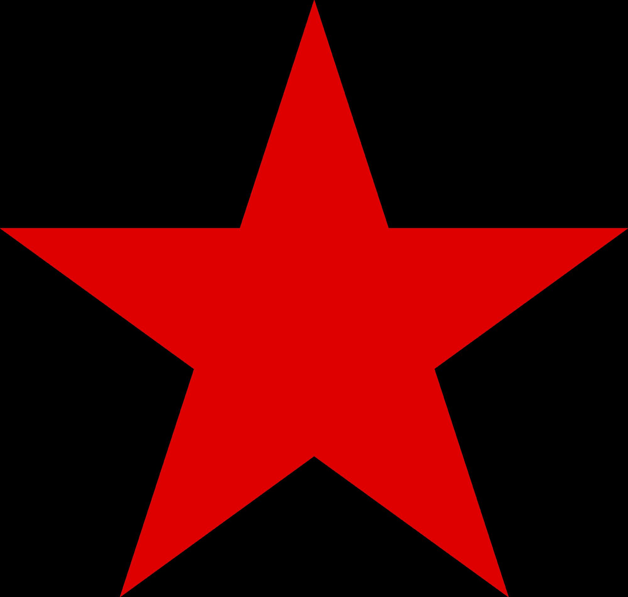 Red star.