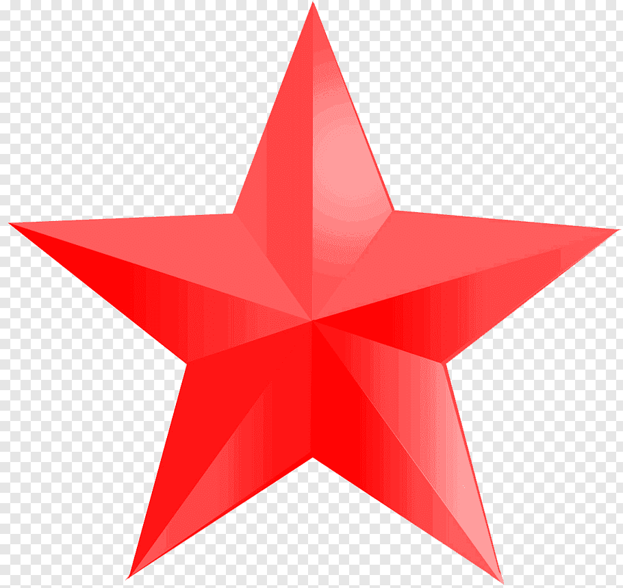 Red star logo, Red star Big Star Icon, Red star free png.