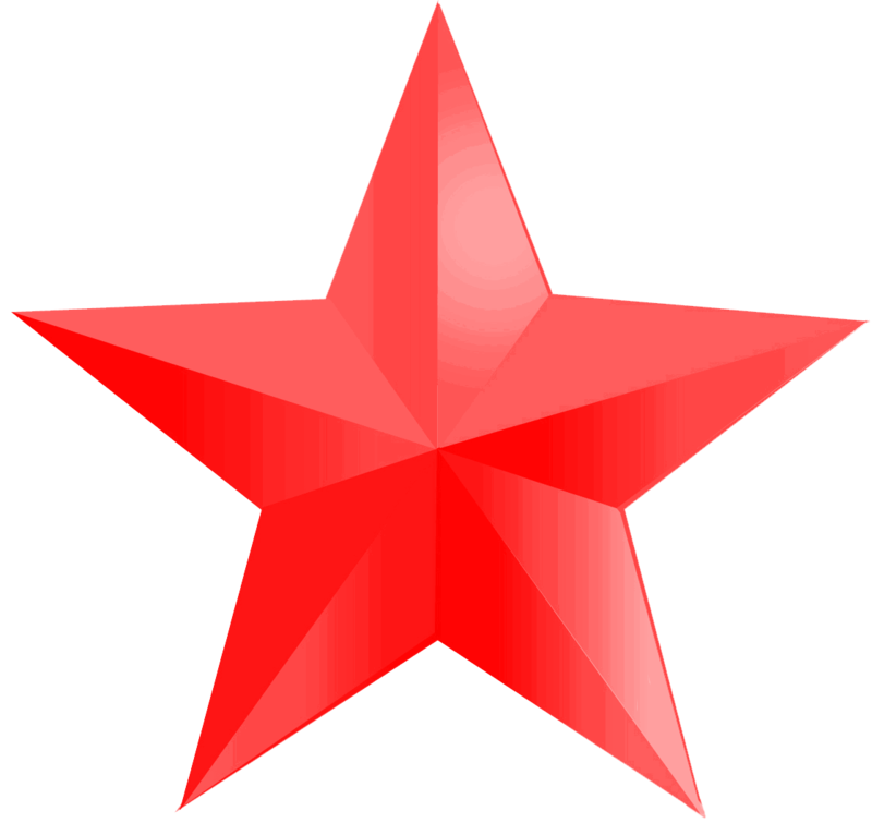 Download Free png Red star PNG, Download PNG image with.