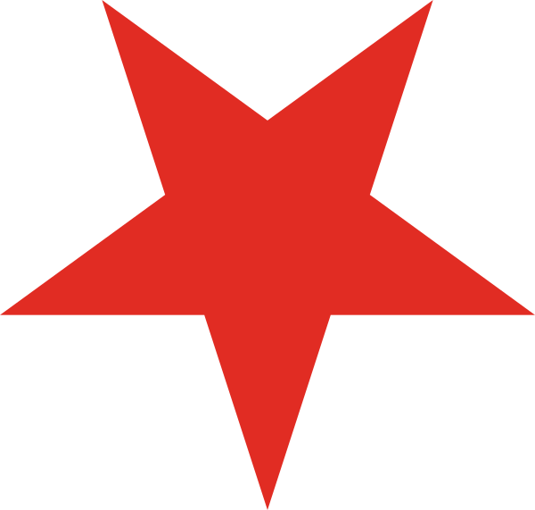 Red Star Icon PNG.