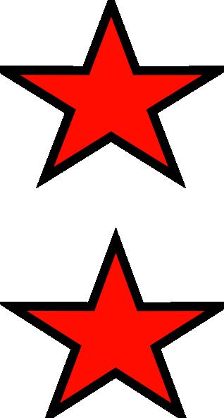 Red Stars Clip Art at Clker.com.