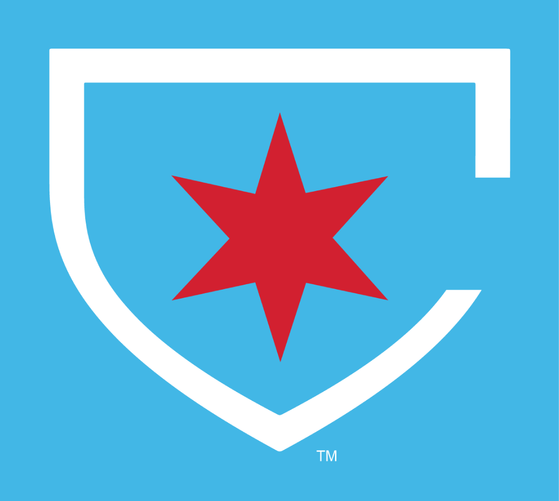 Chicago Red Stars Alt on Dark Logo.