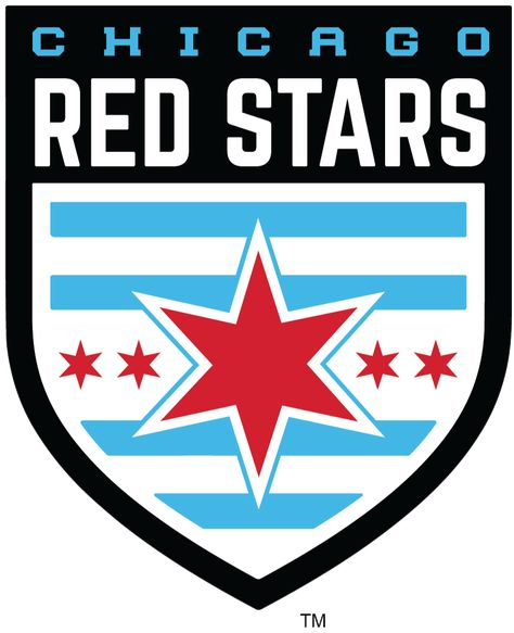 Chicago Red Stars Logo NWSL.