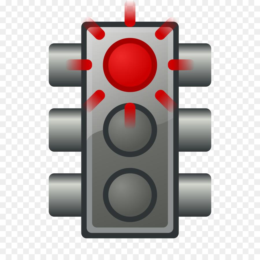 Traffic light Red Clip art.