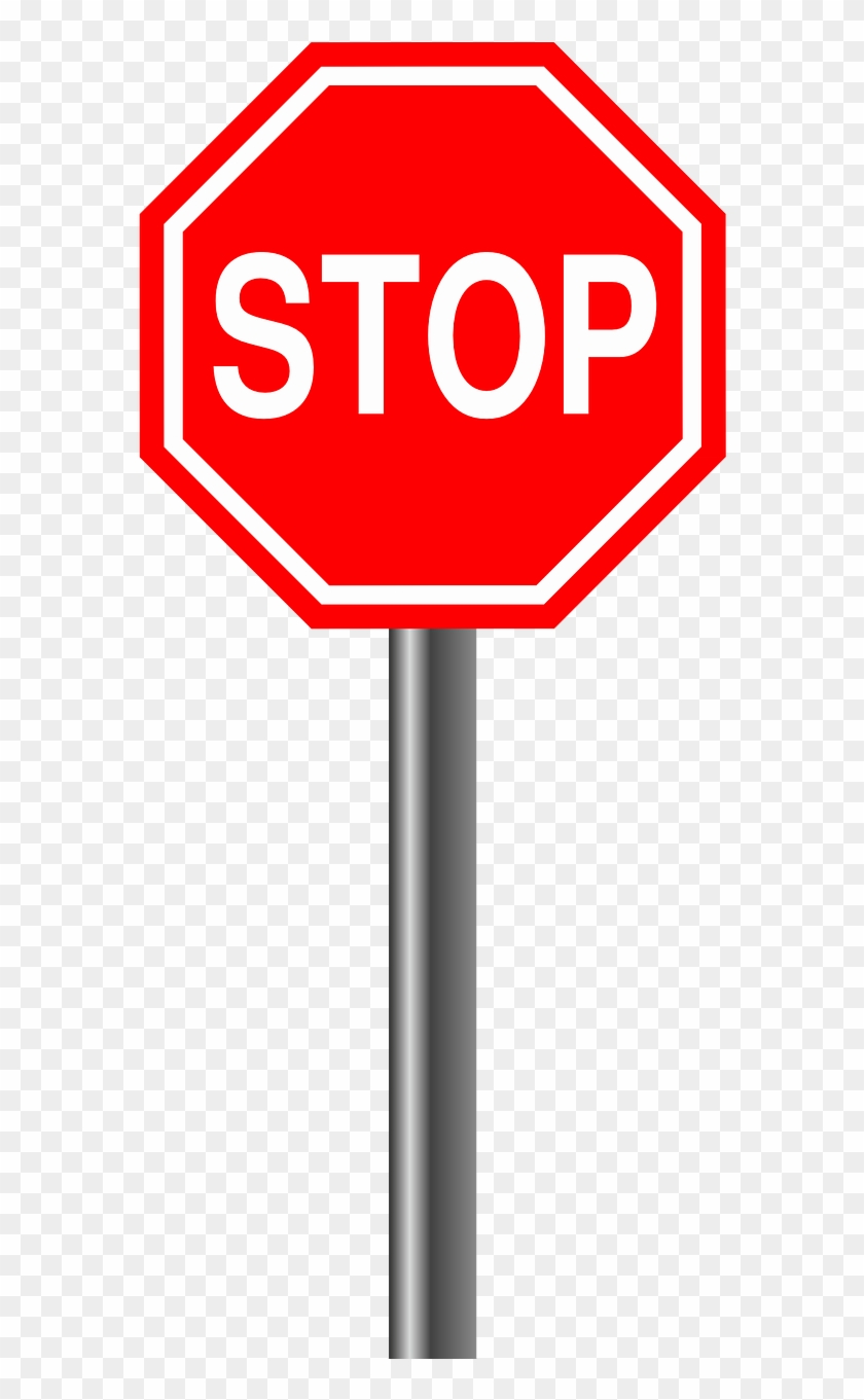 Stop Alloy Sign Road Sign Png Image.
