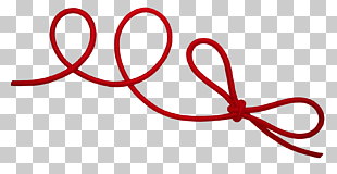 Red string Red thread of fate Rope , Twine, red rope.