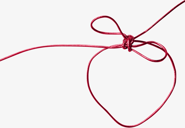 Red Rope, Rope Clipart, Rope, Red String #596036.