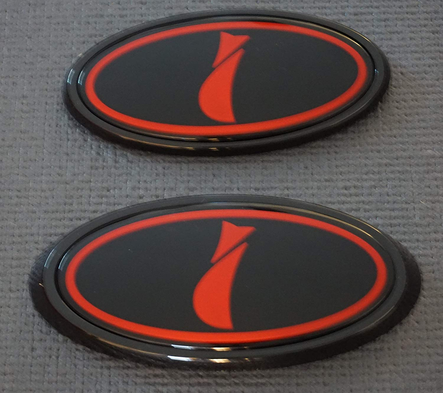Front & Rear Glossy Badge Emblem For 2011.
