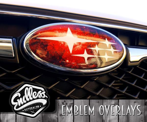 Subaru Galaxy Emblem Overlays.