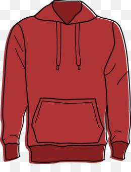 Red Hoodie PNG.