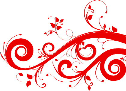 Red swirls png clipart images gallery for free download.