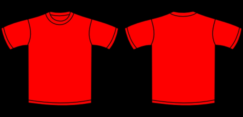 red tshirt clip art design download vector clip art online with.