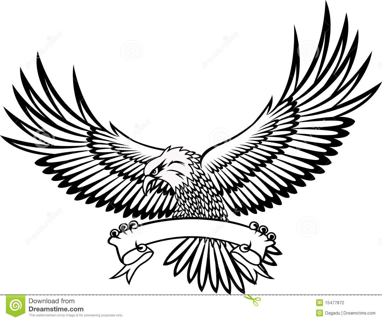 Red Tailed Hawk Clipart.