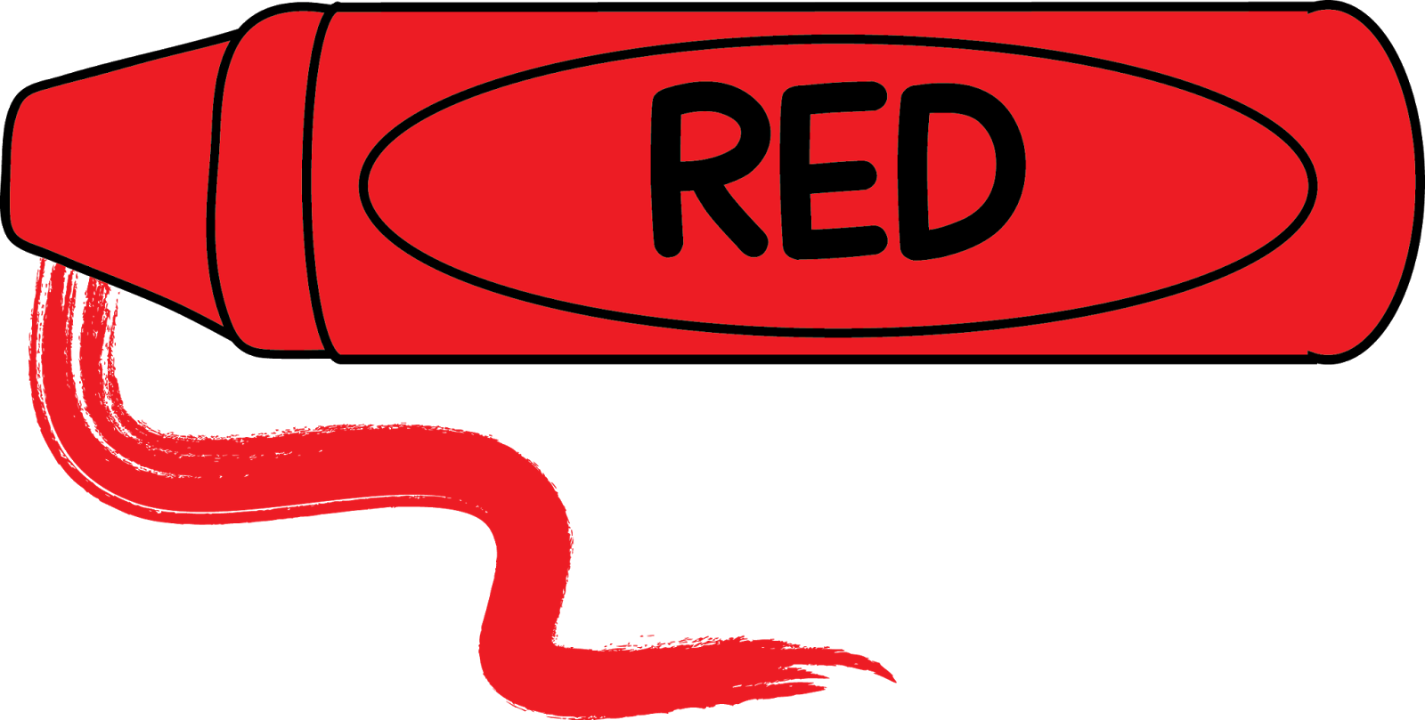 Red Crayon Clipart.