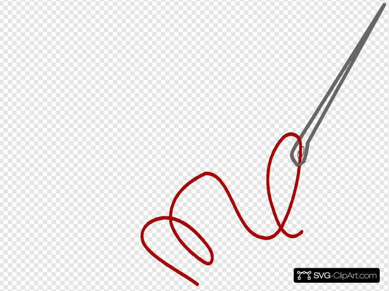 Needle Thread Clip art, Icon and SVG.