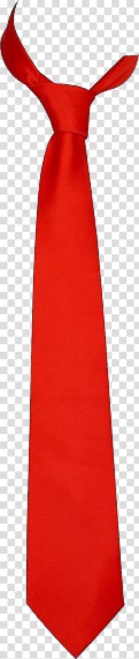 Red necktie illustration, Necktie Bow tie Red , Red Tie.