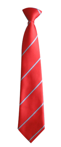 Red White Tie transparent PNG.