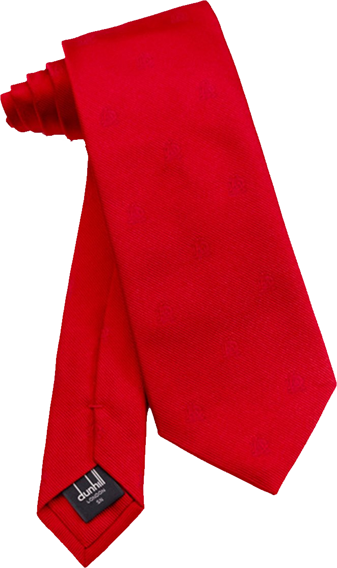 Red Tie PNG Image.