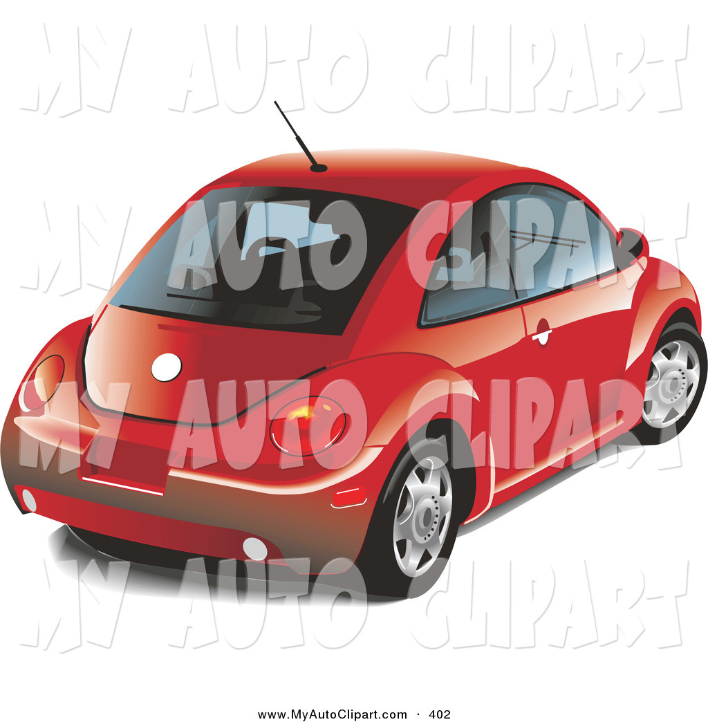 New Red Car Clipart.