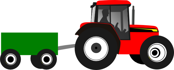 Collection of Tractor clipart.