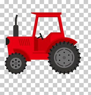 Red Tractor PNG Images, Red Tractor Clipart Free Download.